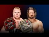 Fighting Online: Lesnar vs. Styles