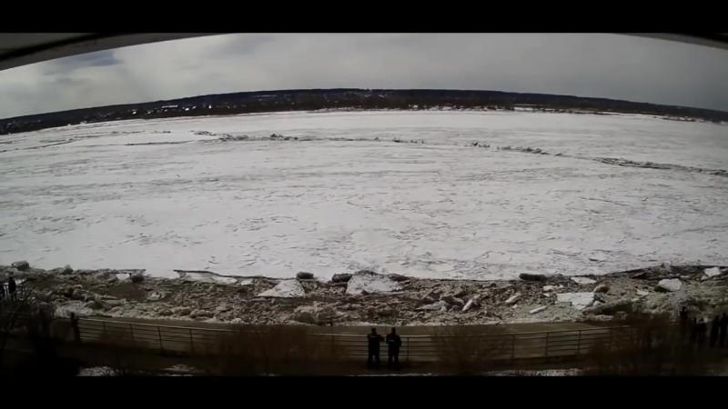 Ледоход начало 2018 паводок Лед тронулся mp4