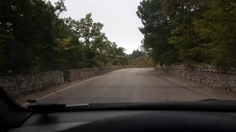 Байдарский перевал, Форосская Церковь
