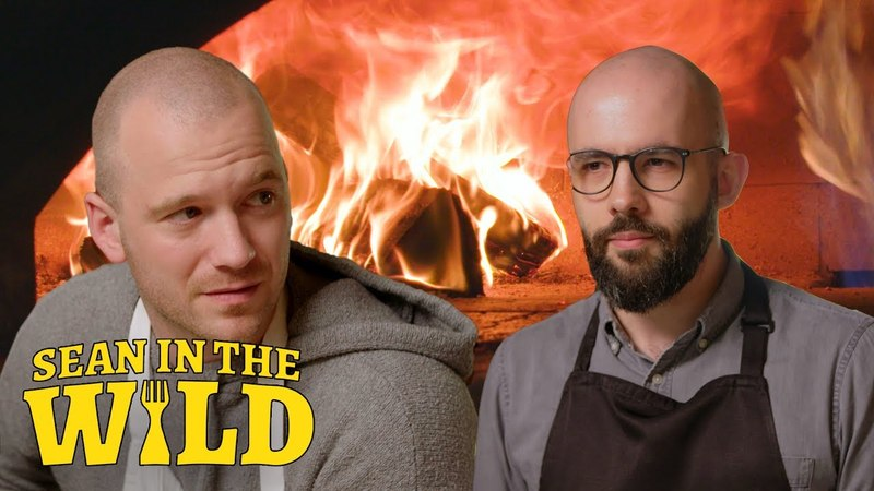 Binging with Babish and Sean Evans Battle to Make the Perfect Filled Calzone Sean in the Wild