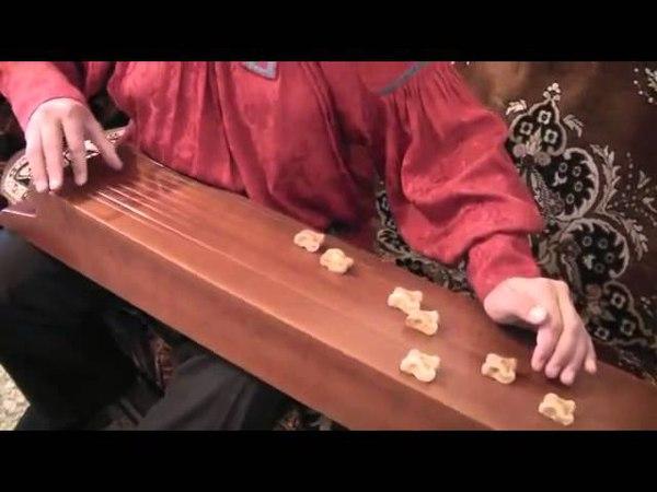 Первоначальные навыки игры на чатхане Занятие пятое Хакасский тахпах