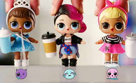 Каждая кукла уникальная
