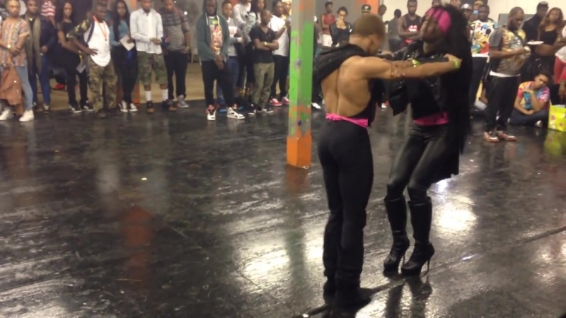 Davon Mizrahi Makaylah Lanvin 10s @ Philly First Friday OTA Tag Team Performance ((Grand