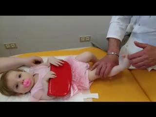 Остеопатия . лечение косолапости у детей