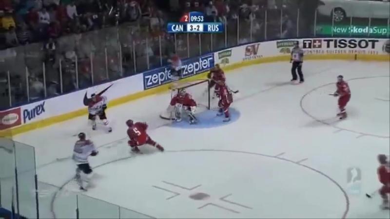 Россия - Канада - 5:4 Квебек финал ЧМ