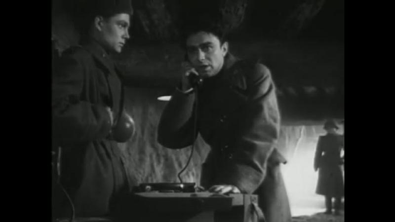 Рядовой Александр Матросов _ Private Aleksandr Matrosov (1947) ... СССР. USSR.
