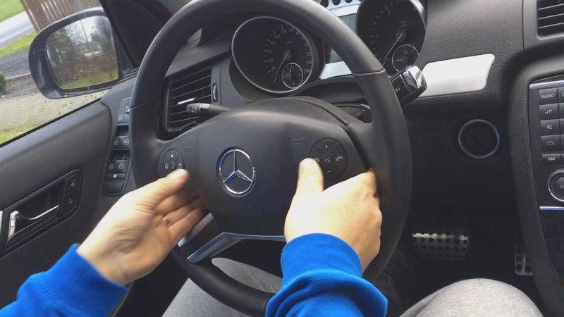 как снять рулевое колесо Mercedes Benz R class w251 VOLANTY.net