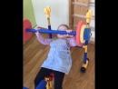 Доча занимается в фитнес зале 😂😄💪🏻