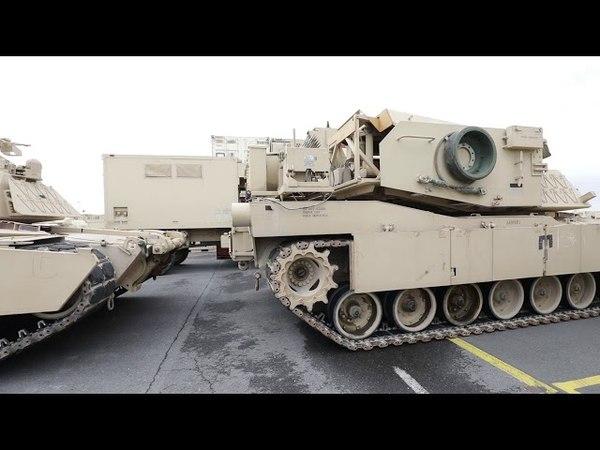Une brigade de l'US Army transite par la Belgique pour renforcer l'Otan a l'est 2