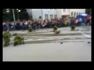 Выступление десантных войск 8 мая(город Аксай)