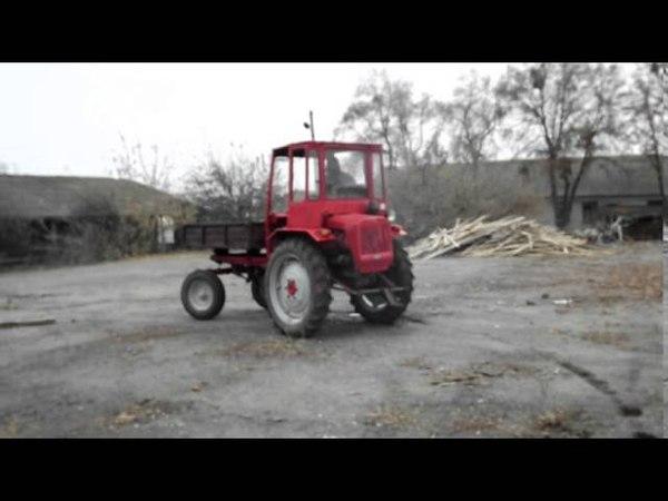 Тест трактор хтз т16