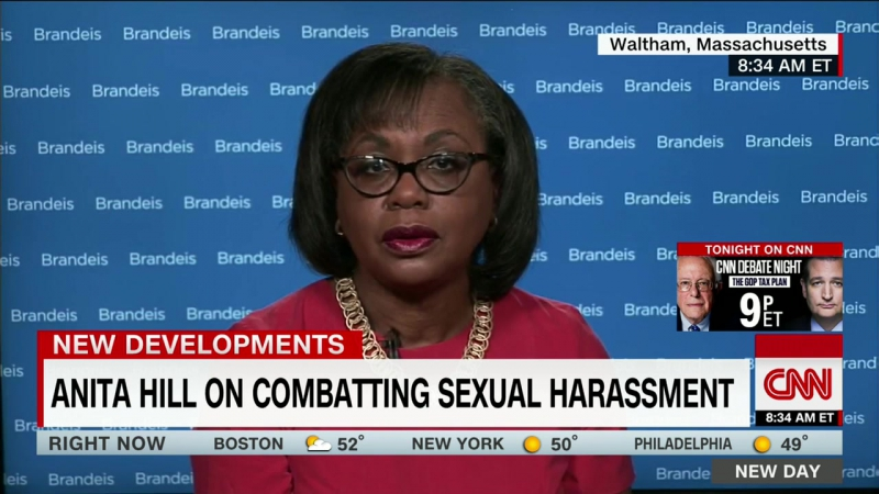 Biden says he owes Anita Hill an apology