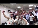 Чемпионское селфи БК «Реал Мадрид» с Флорентино Пересом