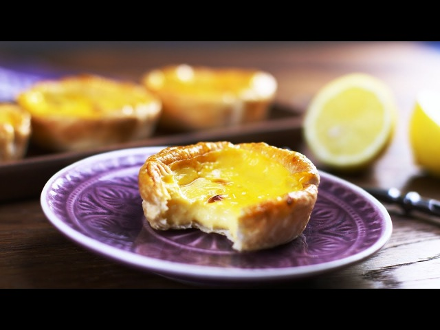Паштел-де-ната классический португальский десерт