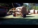 Hauling Hay On The Homestead~Tumblebug Round Bale Transport