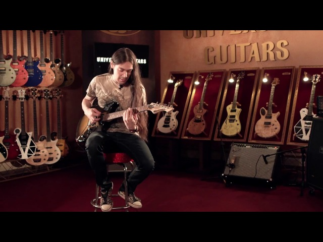 Universum Guitars: Marianna Tremolo demonstration