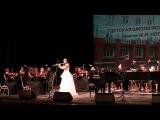 В.А.Моцарт. Концерт D-dur для флейты с орк. 1 ч. Александра Косякова (Воронеж)