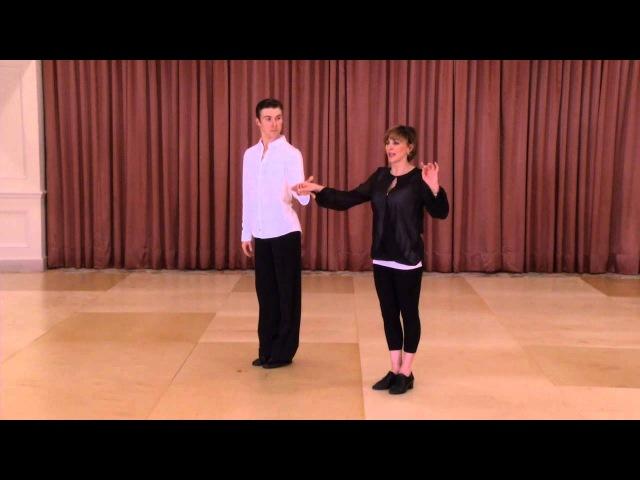 International Cha Cha Technique by Shirley Ballas