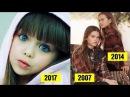 Новая самая красивая девочка в мире юная 6 летняя модель Анастасия Князева