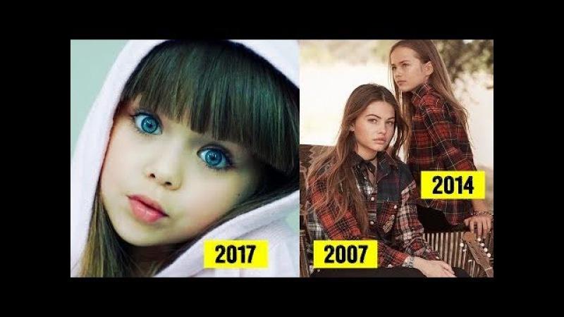 Новая самая красивая девочка в мире - юная 6-летняя модель Анастасия Князева