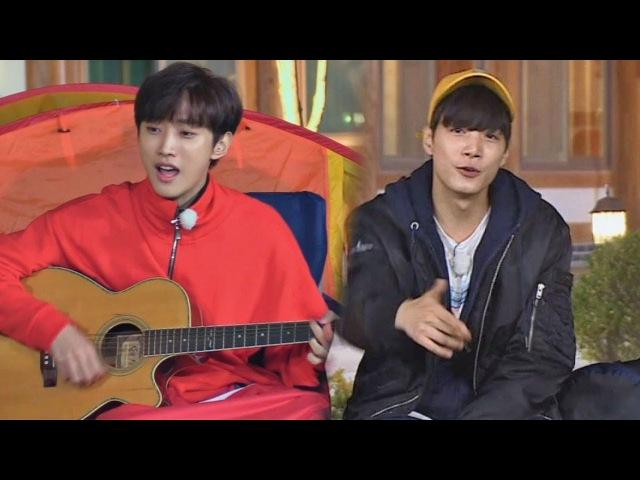 B1A4 진영 작사·작곡51333현의 자작 랩 CM송 밤도깨비♬밤도깨비 11회