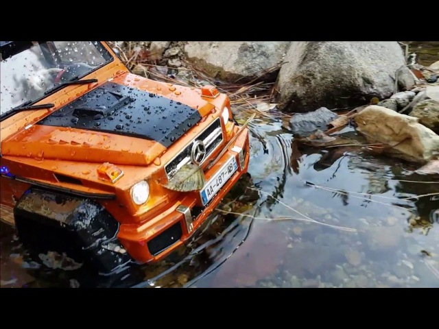 RC CAR Trail MST CFX-W Benz G-Class Bargain Jang-san Park Valley 3