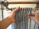 How to use a Two colour Sprang Warp