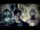The Flash ⚡falling inside black