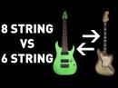 8 String Guitar vs 6 String Baritone Guitar
