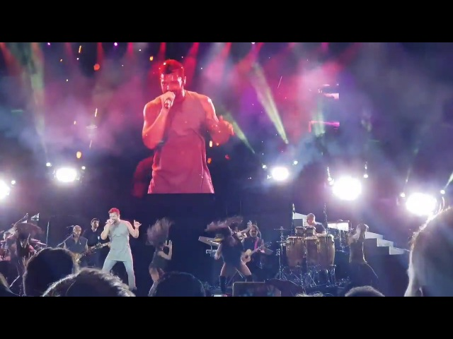 Ricky Martin World Premier of Fiebre in Dubai, Emirates Jazz Festival