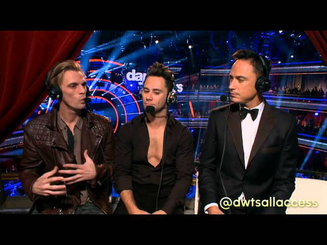 DWTS All Access: Aaron Carter - YouTube