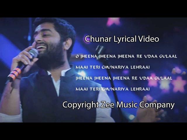 CHUNAR ABCD 2 FULL SONG WITH LYRICS ARIJIT SINGH VARUN DHAWAN SHRADDA KAPOOR