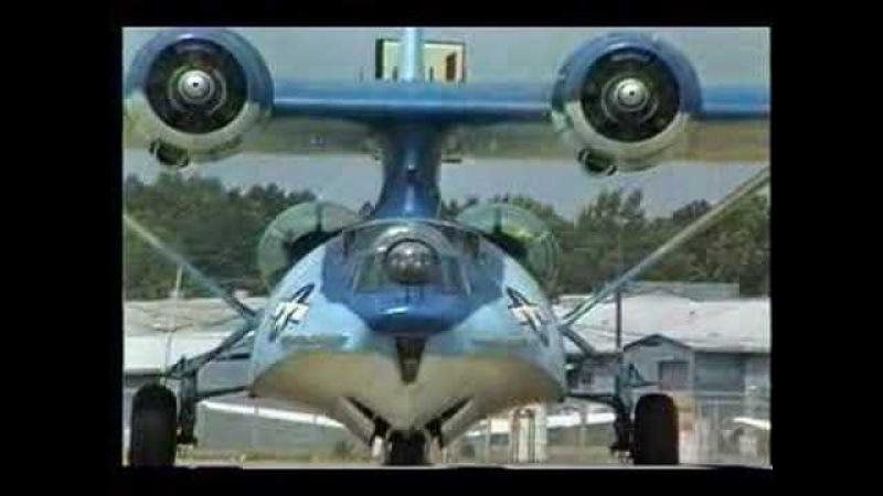 PBY Catalina 62-P - Engines Start - Idle - Takeoff