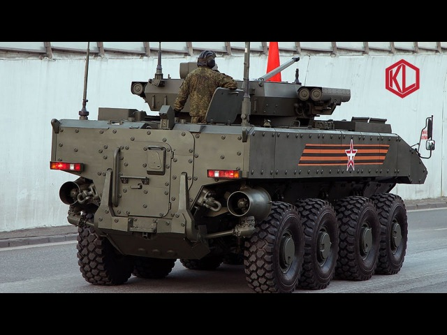 Bumerang (Boomerang) 8x8 Wheeled Armored Personnel Carrier, Russia