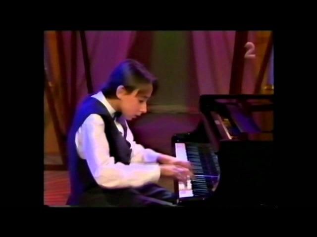 Alexander Kobrin - early performances (1994): Rachmaninov - Polishinelle, Op.3 No.4