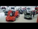 8 Ferrari LaFerrari''s - Colori di LaFerrari - Display at Miller Motorcars