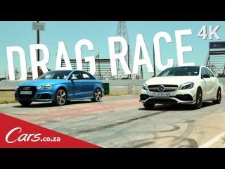 ۩ AUDI RS3 SEDAN QUATTRO vs Mercedes A45 AMG ۩