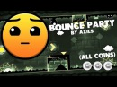 | Geometry Dash 2.1 - Bounce Party By Axils | BIG Master