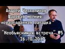 О шаровой молнии, Андрей Чистолинов Необъяснимая встреча 5