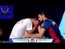 World Arm Wrestling Championship 2015 (FINAL Senior Men -100 kg) Longest match