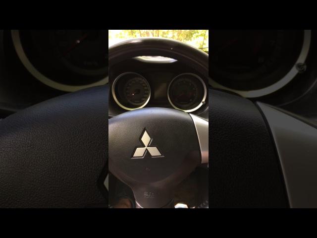 Внутренние Настройки бортового компьютера Mitsubishi Lancer X