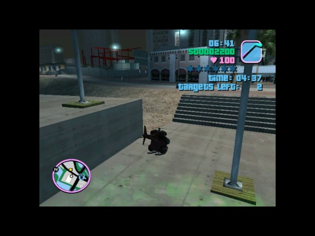 Grand Theft Auto: Vice City. Demolition Man. Helicopter Mission Walkthrough
