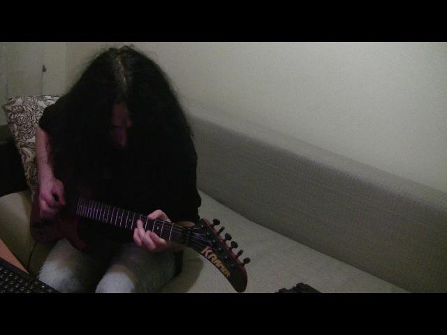 Van Halen - Somebody get me a doctor guitar improvisation cover)
