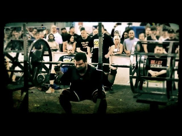 Martins Licis Axle Squat 320 kg 705lbs for 11 reps