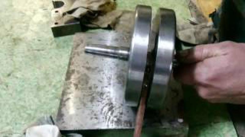 распрессовка коленвала Минск (часть 4) Технология правильного ремонта