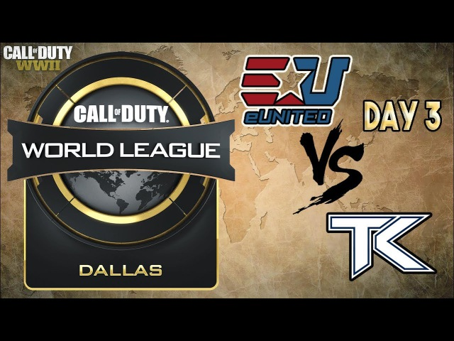 EUnited vs Team Kaliber CWL Dallas 2018
