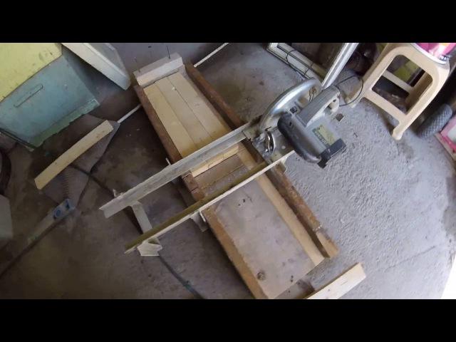 Приспособление для торцевания деревянных запчастей для улья 2016.