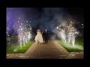 Дорожка из фонтанов на свадьбу. Фейерверк холодный фонтан в Нижнем Новгороде