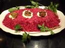 Новая закуска из свеклы и сыра на праздничный стол side salad Beetroot