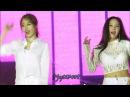 FANCAM 171104 - Lovey Dovey , Jiyeon Hyomin Focused - Vietnam Concert